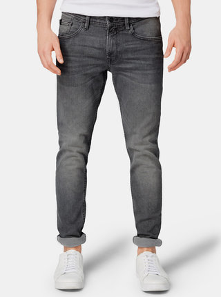 Šedé pánske skinny fit rifle Tom Tailor Denim