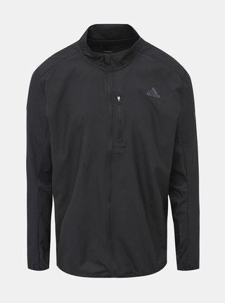 Čierna pánska vodeodpudivá funkčná bunda adidas Performance