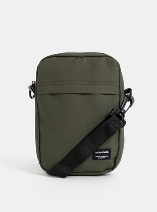 Khaki crossbody taška Jack & Jones Jamie