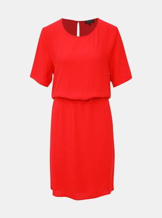 Červené šaty Selected Femme Tanna