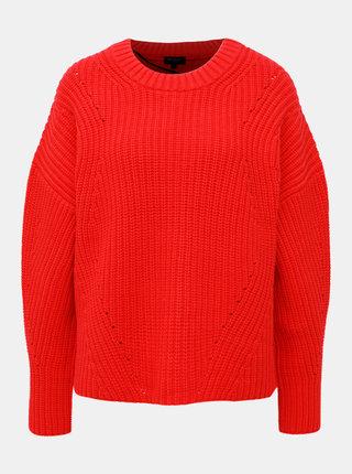 Červený sveter Selected Femme Mira