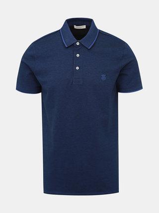 Tmavomodré polo tričko Selected Homme Twist