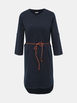 Tmavě modré mikinové šaty Jacqueline de Yong Ivy