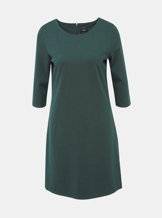 Tmavozelené šaty ONLY Brilliant