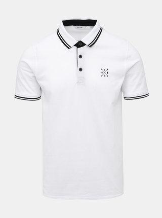 Biele polo tričko ONLY & SONS Stan