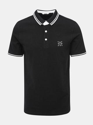 Černé polo tričko ONLY & SONS Stan