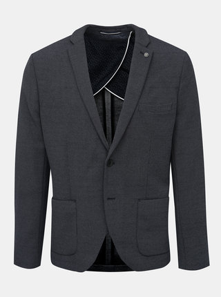 Tmavě modré slim fit sako Selected Homme Hiken