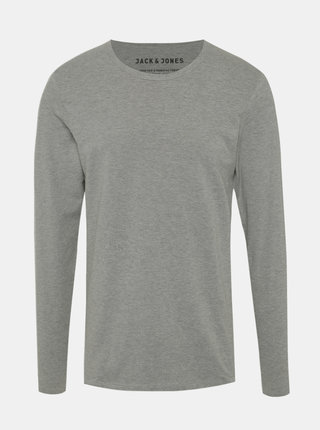 Bluza basic gri melanj Jack & Jones Basic