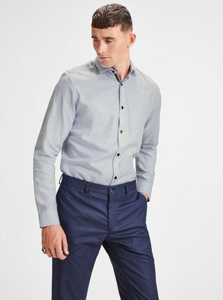 Světle modrá slim fit košile Jack & Jones