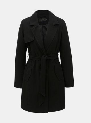 Čierny tenký kabát ONLY Jane