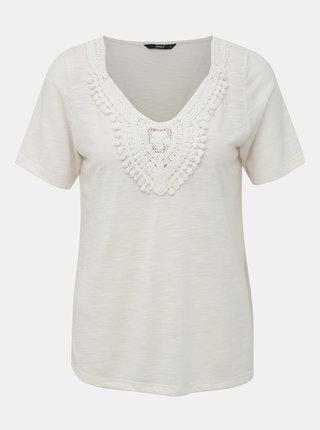 Bílé tričko ONLY Lisa