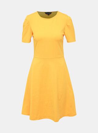 Žlté šaty Dorothy Perkins