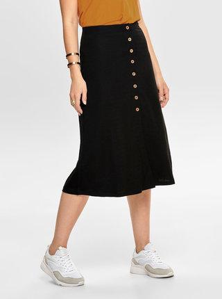 Čierna sukňa ONLY Jany