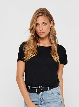 Čierne tričko ONLY Carrie
