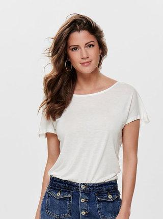 Biele tričko ONLY Carrie