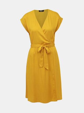 Hořčicové šaty ZOOT Vera