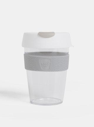 Biely cestovný hrnček KeepCup Original medium 340 ml