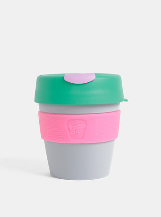 Zeleno-šedý cestovný hrnček KeepCup Original small 227 ml