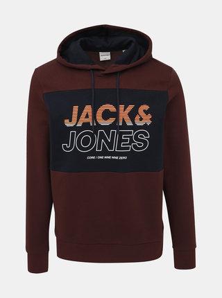 Vínová mikina Jack & Jones Jonah