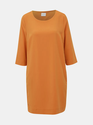 Oranžové šaty VILA Thalia
