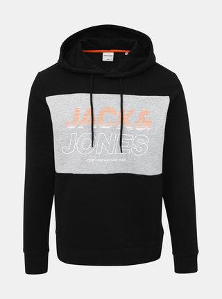 Čierna mikina Jack & Jones Jonah
