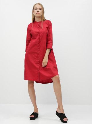 Červené košeľové šaty ZOOT