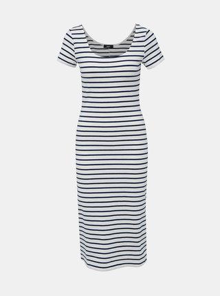 Modro-bílé pruhované basic šaty ZOOT Junne