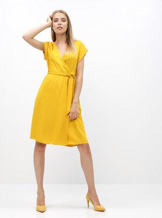 Horčicové šaty ZOOT Vera