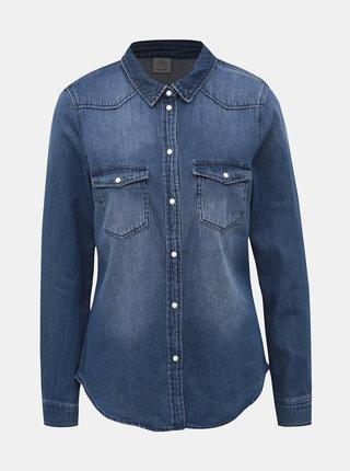 Modrá džínová košile VERO MODA Maria