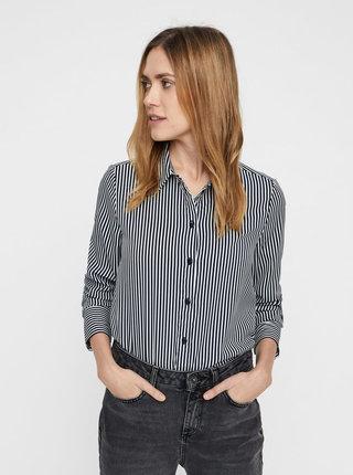 Bielo–modrá pruhovaná košeľa VERO MODA Nicky