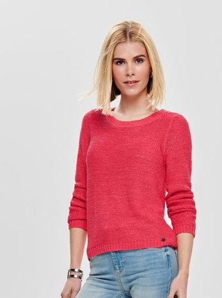 Tmavoružový sveter ONLY Geena