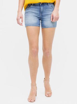 Pantaloni scurti albastri din denim ONLY Carmen