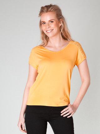 Oranžové tričko Yest