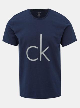 Tmavomodré pánske tričko Calvin Klein Underwear