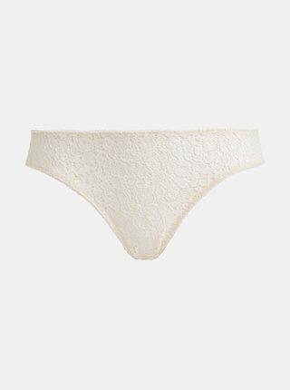 Krémové krajkové nohavičky ICÔNE Kos