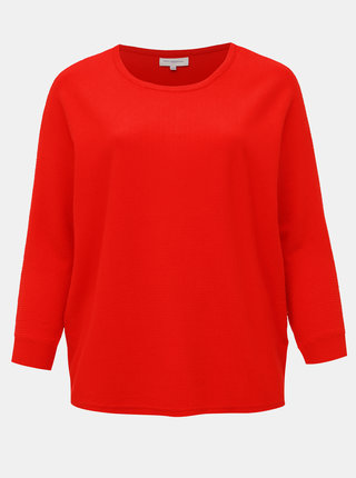 Červený sveter ONLY CARMAKOMA Carline