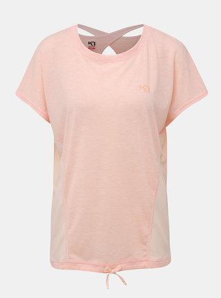 Marhuľové športové tričko Kari Traa Isabella