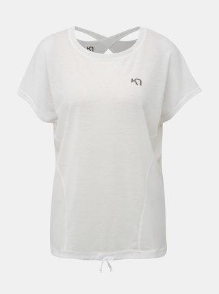Bílé sportovní tričko Kari Traa Isabella