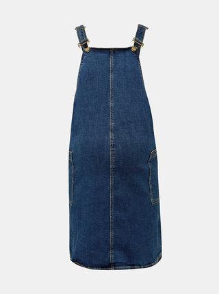 Modré těhotenské džínové šaty Dorothy Perkins Maternity