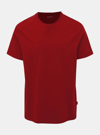 Vínové basic tričko Burton Menswear London Fera