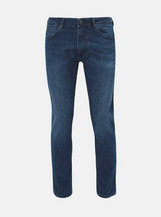 Modré skinny fit rifle Burton Menswear London Indigo