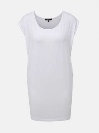 Bílé dlouhé tričko Yest