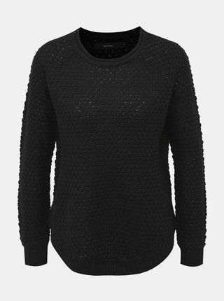 Čierny sveter VERO MODA Esme