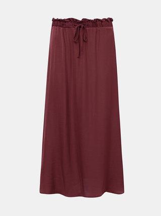 Hnědá sukně Jacqueline de Yong Appa
