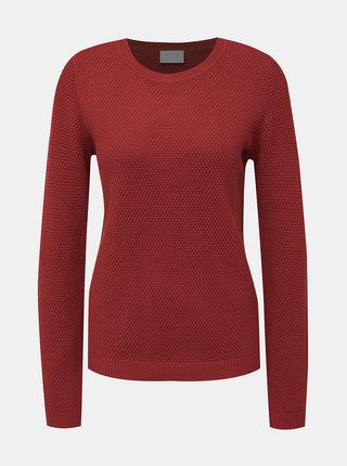 Červený sveter VILA Chassa