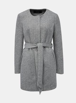 Šedý ľahký kabát VERO MODA Julia