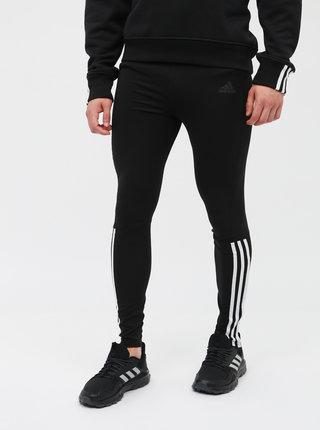 Černé pánské funkční legíny adidas Performance