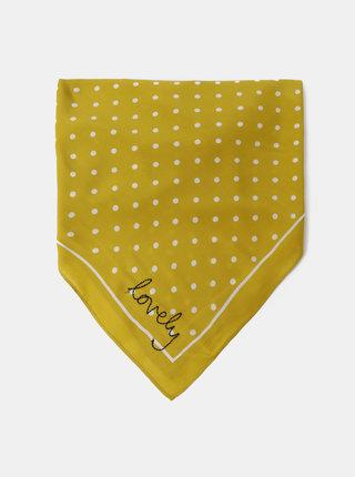 Žlutý puntíkovaný šátek Tom Joule Tiewell