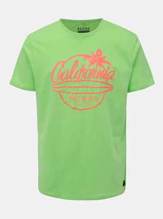 Zelené tričko s potiskem Blend