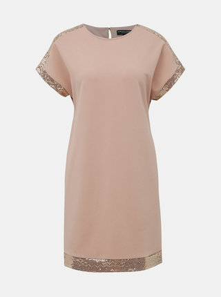 Starorúžové šaty Dorothy Perkins